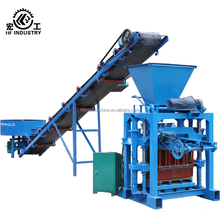 simple block making machine road brick laying machine QT4-35 manual block making machine in kenya