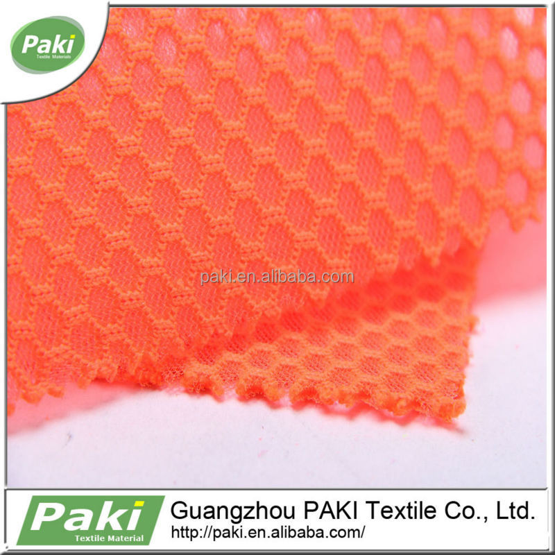 china supplier 390gsm Good air permeability 54 wide tricot fabric and textile for bag