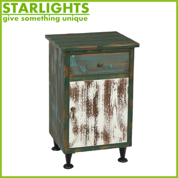 wholesale products antique decorative classic outdoor wood storage cabinets with multi drawer