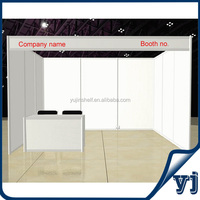 Standard white beautiful 9 MDF boards exhibition frame