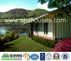 China modern building material supplier prefabricated steel house garage villa