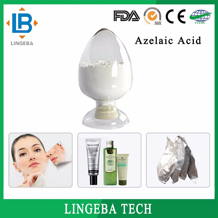 Factory High Quality Skin Whitening 99% 123-99-9 Azelaic Acid Powder,Azelaic Acid