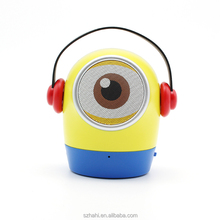 OEM Minions Cartoon Mini USB Wireless Bluetooth Speaker with Ce (ED-10)