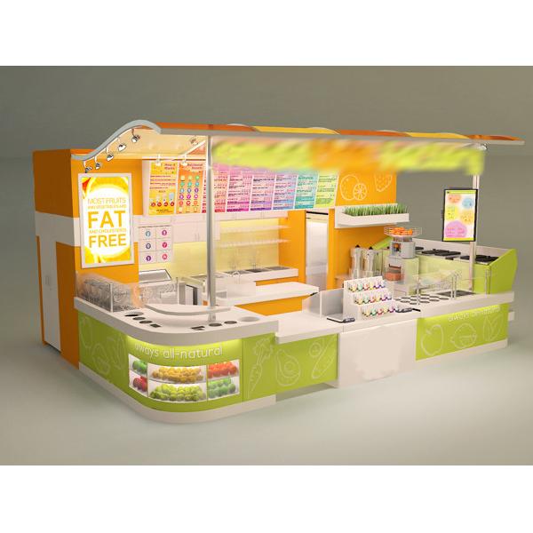 Hot sale indoor food kiosk ice cream buy kiosk ice cream for Indoor food kiosk design