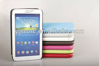 "MART TEXTURED TABLET LEATHER CASE COVER FOR SAMSUNG GALAXY TAB 3 7"" P3200 P3210 7 inch"