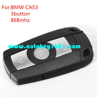 mS 3 5 series car smart card 3button remote key 868mhz for bmw cas3 key