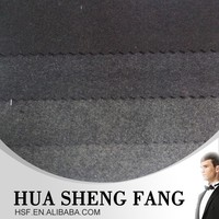 High Quality Guangzhou light Grey Melton Wool Fabric