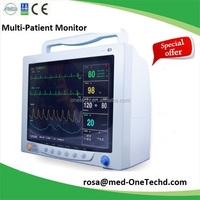 Best price! Over Pressure Protection Multi-parameter ICU Patient Monitor M5R, CE/FDA Certified Safty Medical Patient Monitor