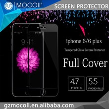 MOCOll Brand Luxury Packaging Anti Spy For iphone6 Full Covered Glasses Protective Forming Film