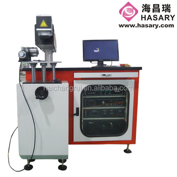 Semiconductor YAG-50 Laser Marking Machine for Metal / PVC TAG