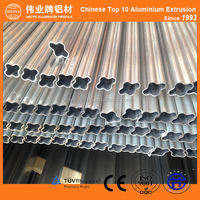 Best Selling Anodizing Champagne Color Decorative Aluminium Profile