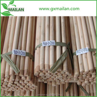 smooth surface natural wooden broom handle with cheap price