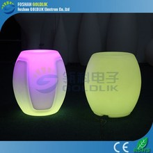 GLACS Control LED Bar Furniture Colorful Funky Bar Stool Italian Bar Stool