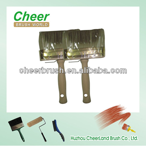 bamboo paint brush/wooden broom handle of ceiling brushes cheer204
