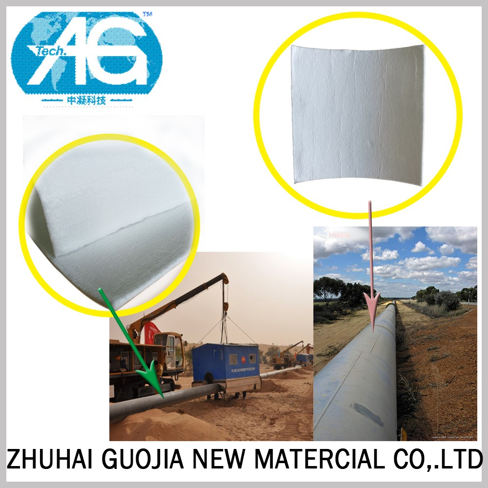 Lightest Solid ISO9001 Low Thermal Conductivity AG-F650 Aerogel Hot Insulation Blanket