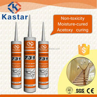 Made in China one component acetoxy cure silicone caulk