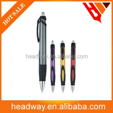 2015 new many color high quality promotion plastic ball pen