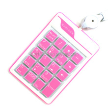 18 Keys Silicone Numerical Keypad