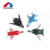 Wholesale popular 4 pcs lifelike modeling sliding alloy diecast model aircraft for kids