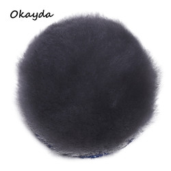 hot sale sheepskin fur car polishing wool buffing pads
