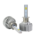 H11 Led Car Headlight Bulb 40W 4000lm Dual Color Yellow Light 3000K 6000K Led Headlamp For Headlight