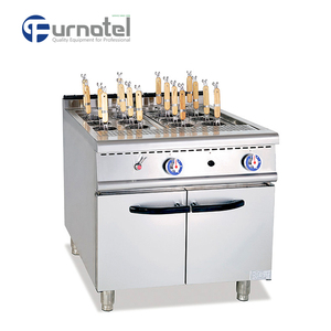 New Products 700 Series Gas Pasta Cooker With Cabinet commercial pasta cooker