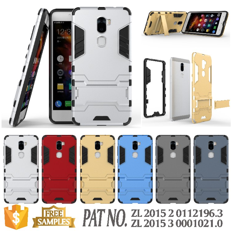Iron man kickstand back cover case coolpad letv cool 1