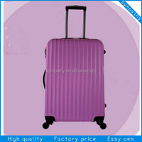 Hard shell PC trolley luggage bag/travelers luggage