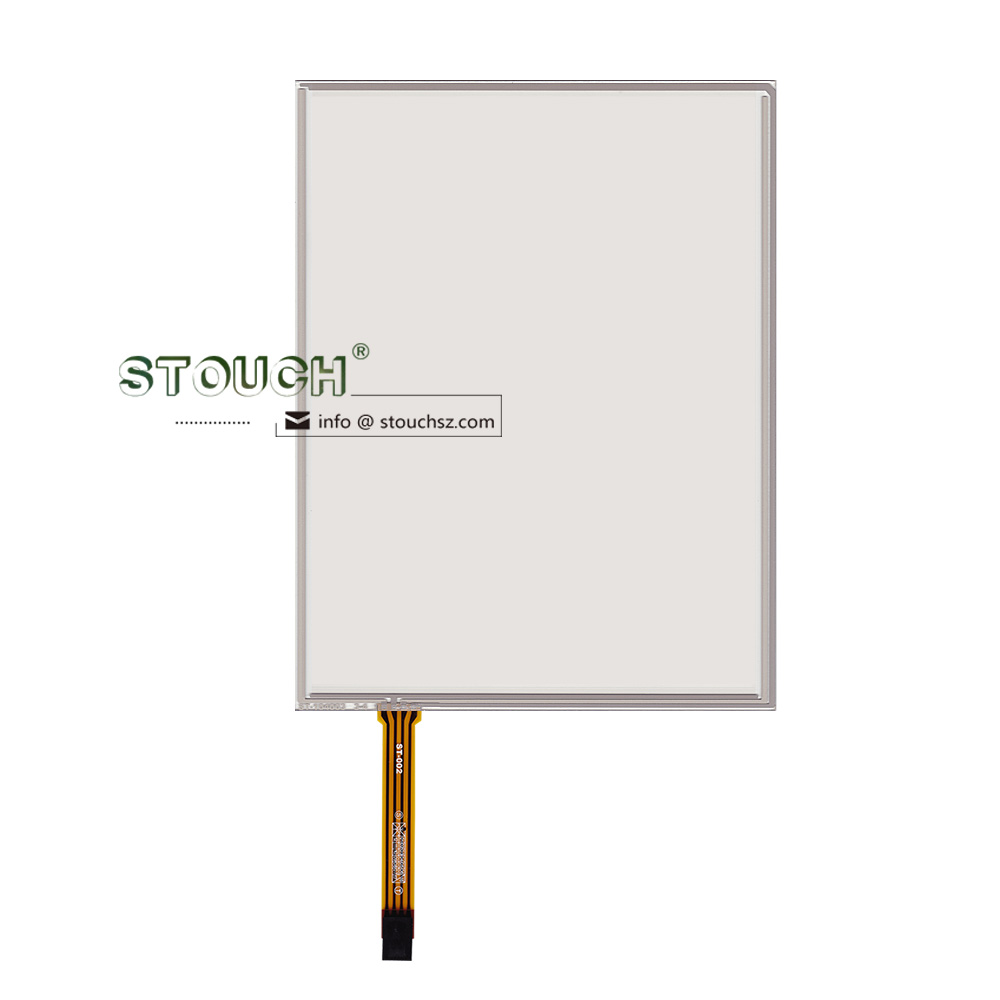 10.4 inch resistive touch screen digitizer 4 wire