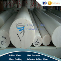excellent properties of corrosion resistance PTFE rods, rods of molding