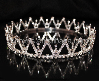 Medium Base Full King Crown and tiara