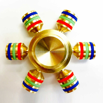 New Arrival Stainless Steel bearing Fidget Toy Metal Tri Hand Spinner