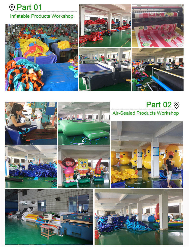 Inflatable Aqua Park Water Park Equipment For Adult