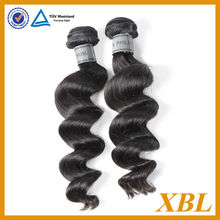Guangzhou XBL Natural Hair Wholesaler No Tangle and Shedding Unprocessed Hair Weft