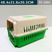 Small Plastic Pet Dog Cat Carrier, Eco-friendly Material, Airline Approved, Durable and Confortable Design