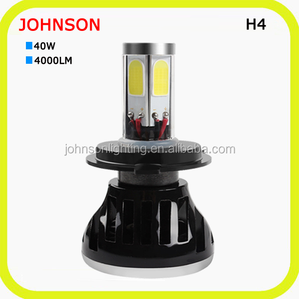 Long life span 40w 4000 lumen 12v headlight restoration kit automobile led light for cars and suv