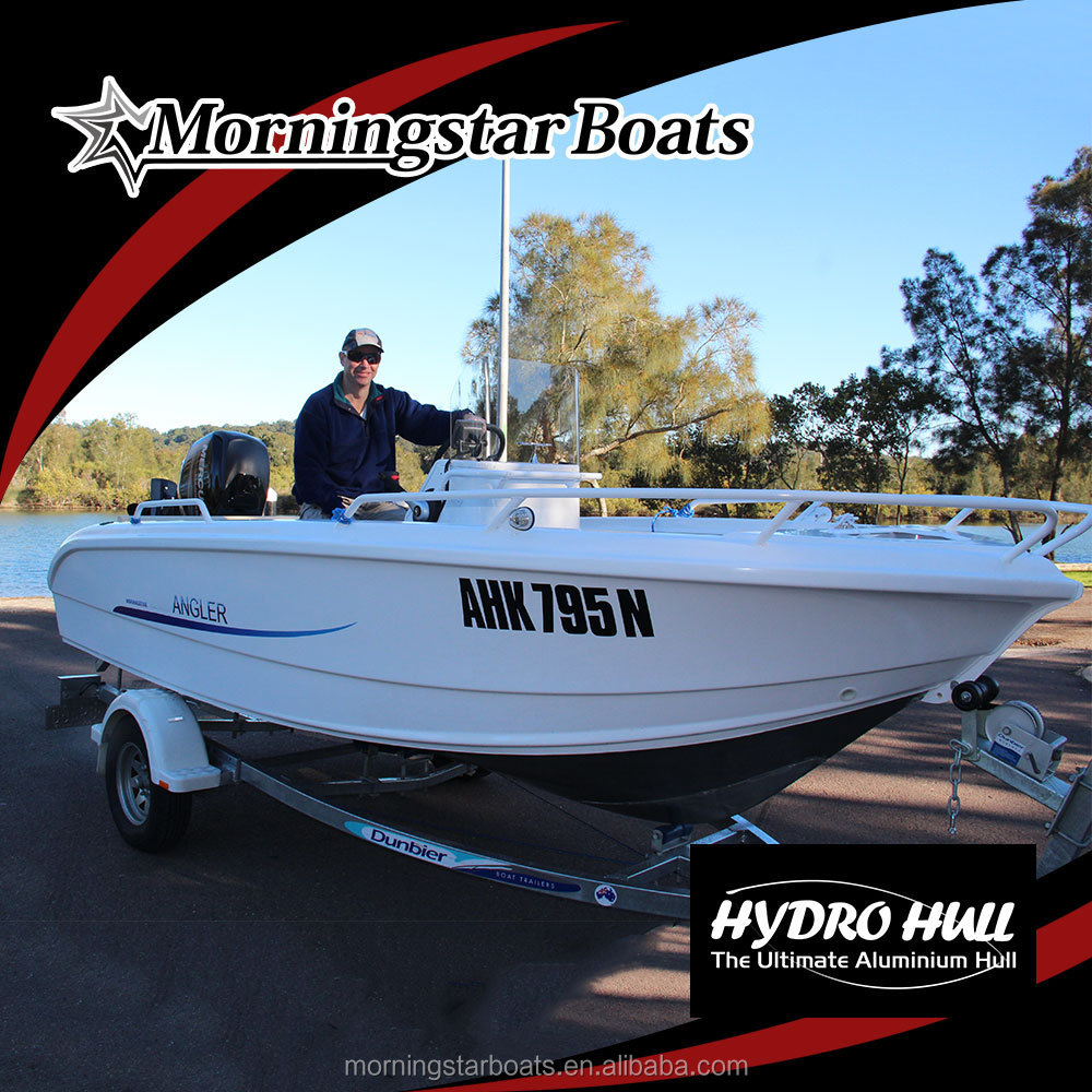 small aluminum speed boat hull without outboard motor