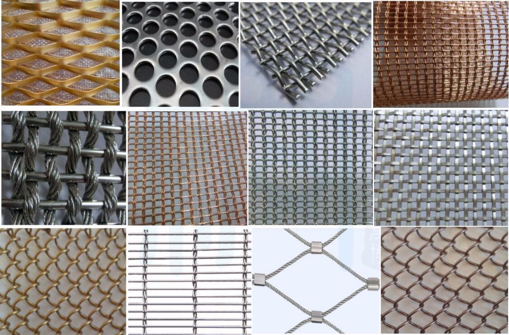 Decorative Wire Mesh/Stainless Steel Metal cladding mesh