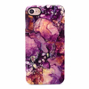 Hot Purple Galaxy Shiny Gloosy/Matte Marble Painted Phone Case Soft IMD TPU Silicon Case For iPhone 6 6s 6Plus 7 7plus