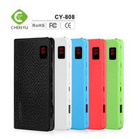 hot selling 8000mah portable charger power bank fit for mobile phone
