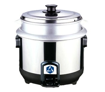 biogas and LPG power rice cooker