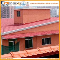 plastic ridge tile for roof synthetic resin roof tile with different color