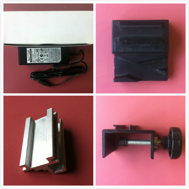 LED trade show light universal clamp, display arm light, trade show arm light, 1600-1800Lm 24W DC18-24V