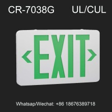UL listed Red/Green color LED exit sign for fire safety escape