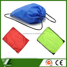 Wholesale nylon colorful drawstring backpack