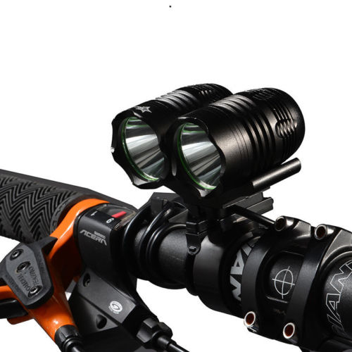 Rockbros Rainproof 1800LM USB Rechargeable T6 Cree XML <strong>U2</strong> LED Bike Front Light Bicycle Headlight with 3 Modes