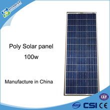 hot sale poly-crystalline 12V 100W cheap solar panels in china