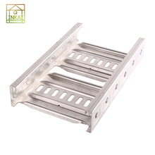 0.65-1.5mm Thickness 50mm Height Customized Sizes Stainless Steel Cable Tray