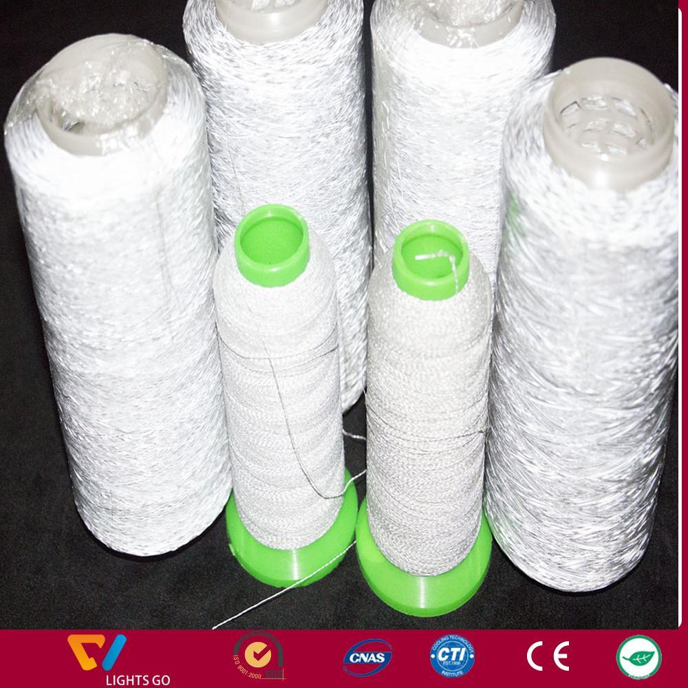 double side knitting retroreflecting yarn/reflex-yarn/ reflecting yarn