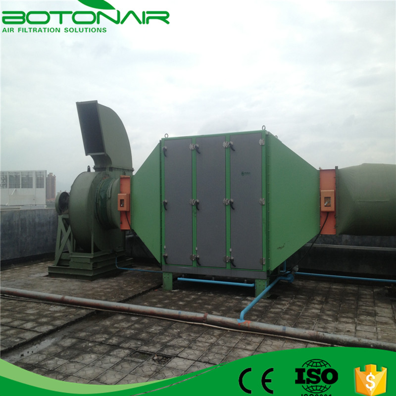 Electrostatic Air Cleaner for Industry Exhaust Steam Collecting Machine